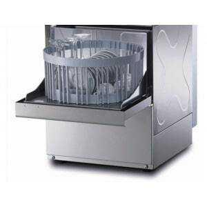 Lave-verres 35 x 35 - Avec Panier Rond & Pompe de Vidange - Grande Hauteur de Verres Krupps - 1