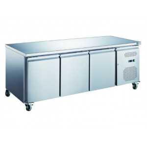 Table Réfrigérée Positive Profondeur 600 - 3 Portes FourniResto - 1