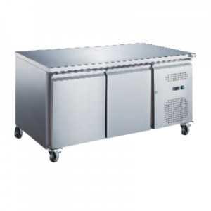 Table Réfrigérée Positive 2 Portes - Profondeur 600 FourniResto - 1