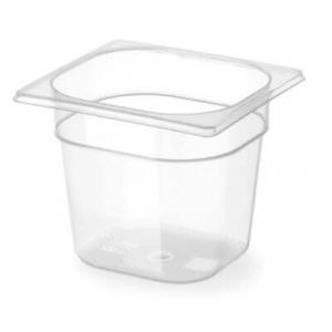 Gastronorm Behälter GN 1/6, skaliert - H 100 mm