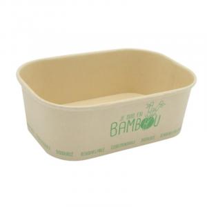 Bambusschale - Mikrowellengeeignet - 75 cl - 50 Stück