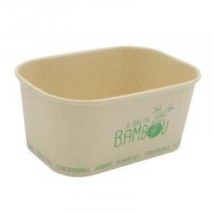 Bambusschale - Mikrowellengeeignet - 100 cl - 50 Stück