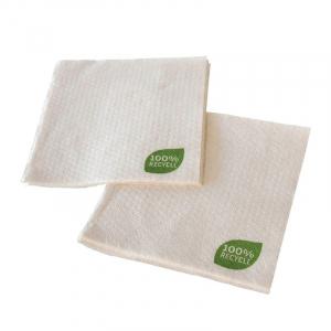 Serviette aus Recyclingpapier - 30 x 30 cm 1-lagig - 100 Stück