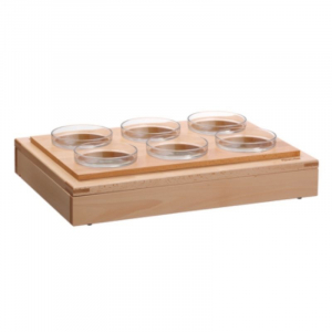 Buffet-System - 6 Glasschalen