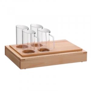 Buffet-System Set - 4 Karaffen