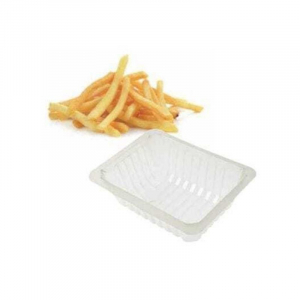 Pommesschale, transparent - 37,5 cl - 250 Stück
