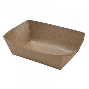 Pommesschale aus Karton - L 120 x T 70 mm - Umweltfreundlich - 250 Stück