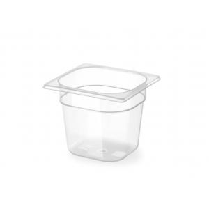 Gastronorm Behälter 1/6 aus Polypropylen - 2,4 L - H 150 mm