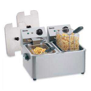 Friteuse Professionnelle SNACK II - 2x4 L Bartscher - 1