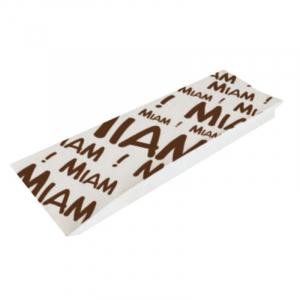 """Brötchentüte """"Miam"""" aus Kraftpapier - 1000 Stück"""