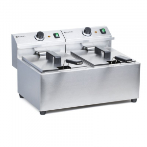 Fritteuse Mastercook - 2 x 8 L