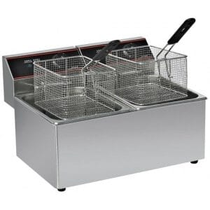 Friteuse Professionnelle 2 x 10 Litres Columbia - 1