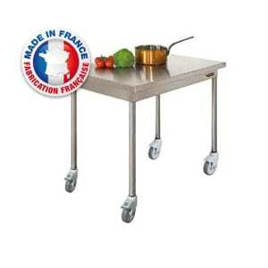 Table Centrale sur Roulettes SOFINOR - 1