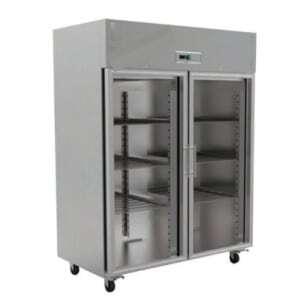 Armoire Réfrigérée Vitrée GN2/1 Positive - 1400 Litres FourniResto - 1